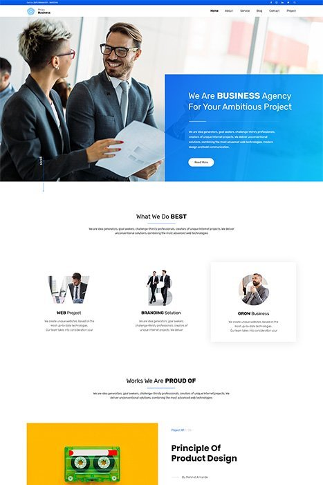 Free Elementor WordPress Theme - Phlox